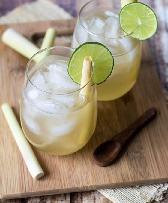 Lemongrass and Ginger Iced Tea Recipe