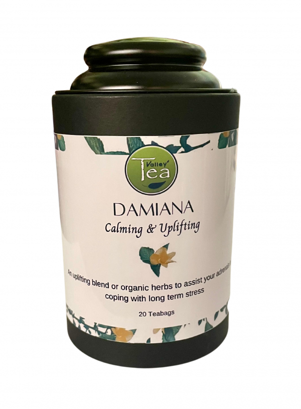 Damiana Canister Tea