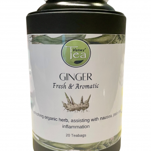 Ginger Teabag Canister