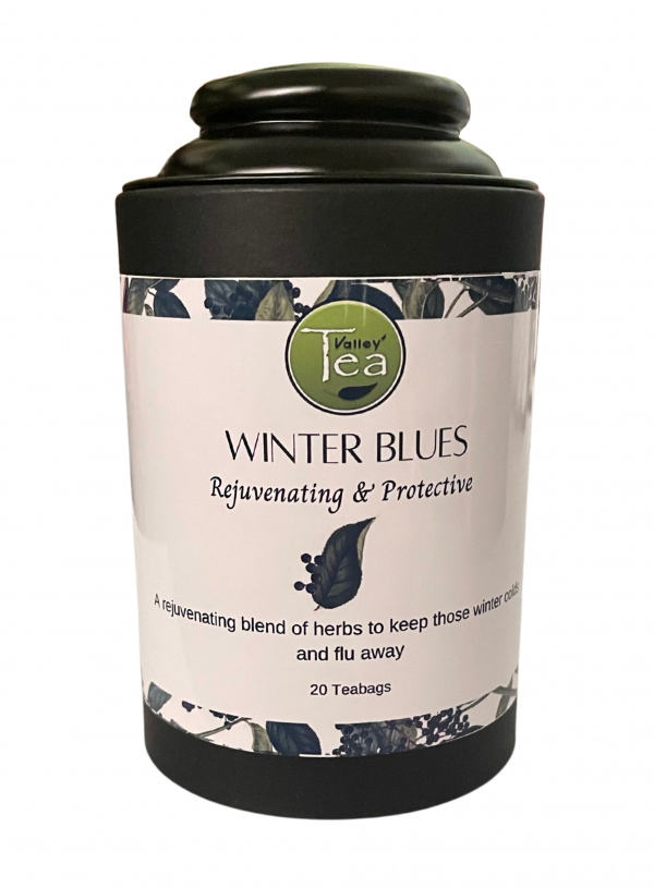 Winter Blues Canister Tea